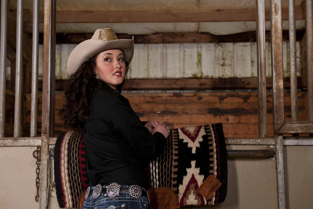 Portrait of a Rodeo Queen