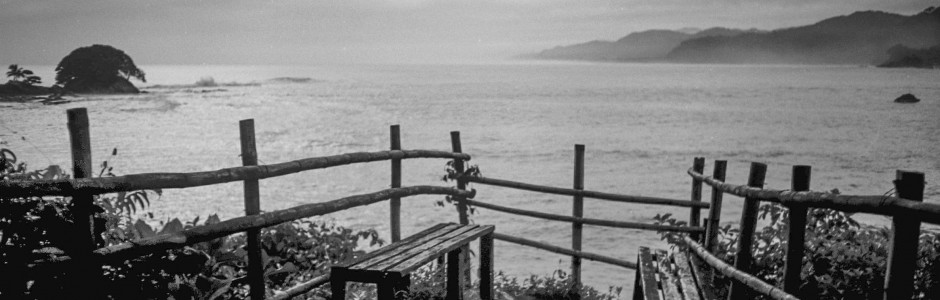 Benches and the Sea_21A